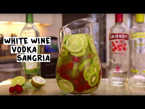 White Wine Vodka Sangria
