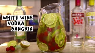 White Wine Vodka Sangria
