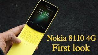 Nokia 8110 4G and Nokia 1: Budget Nokia phones at MWC 2018