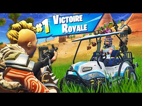 TOP 1 sur la NOUVELLE CARTE de la SAISON 5 de FORTNITE Battle Royale !!
