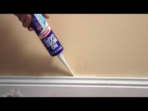 Selleys How To Fill Gaps In Skirting Boards Youtube