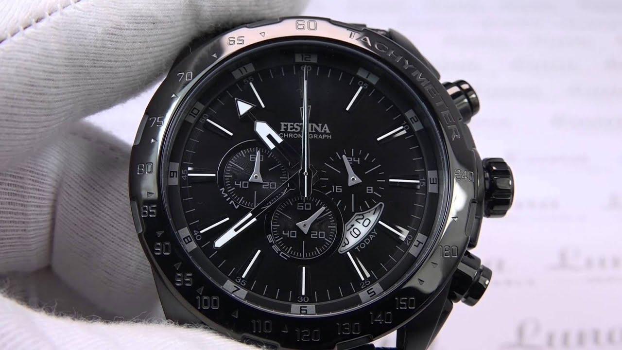 FESTINA F16902 1 Sport Prestige Chronograph - YouTube 57e275dafed