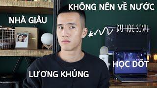 SỰ THẬT VỀ DU HỌC SINH, GIẢI ĐÁP THẮC MẮC TRƯỚC KHI LÊN ĐƯỜNG   Anh bạn thân Vlog #12