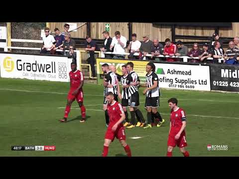 HIGHLIGHTS | Bath City 5-0 Hungerford Town | 14/4/18