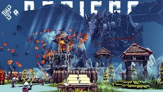 Besiege - The Largest Creation Ever! - Amazing Transformer & More - Besiege Best Creations