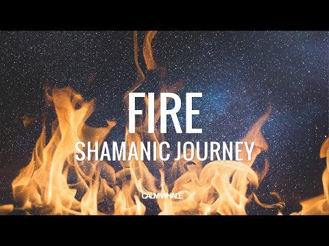 FIRE 🔥 Pure Shamanic Drum Journey 2  - Deep Trance Cleansing Meditation #CalmWhale