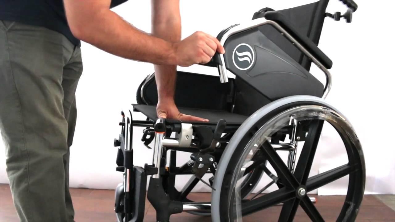 Silla de ruedas breezy 250 de acero y plegable youtube - Ruedas para sillas de ruedas ...