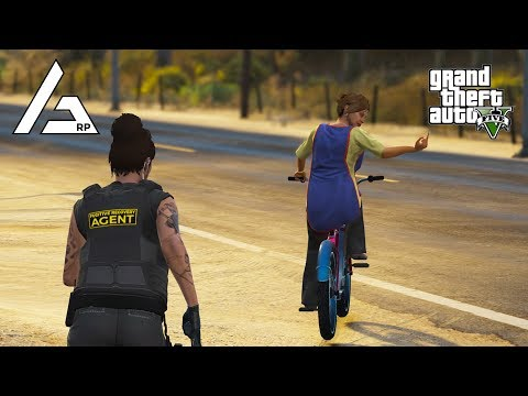 GTA 5 Roleplay - ARP - #229 - Bail Bond Bicycle Bust.