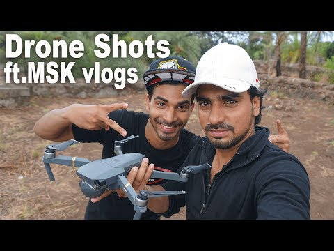 Vasai Fort Drone Shot | Ft. MSK Vlogs | Answered Rare Question