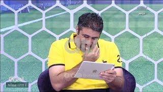 """محمد كرم يُدخل رواد الديربي بموجة ضحك بعد اجابته على سؤال """"هل وقعت بالحب"""""""