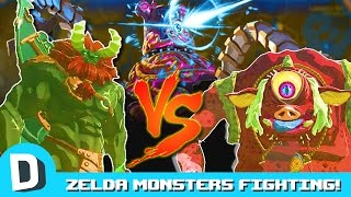 We Trick Zelda's Biggest Monsters into Fighting