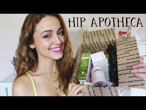 HIP APOTHECA HAUL- Website for ORGANIC lovers!