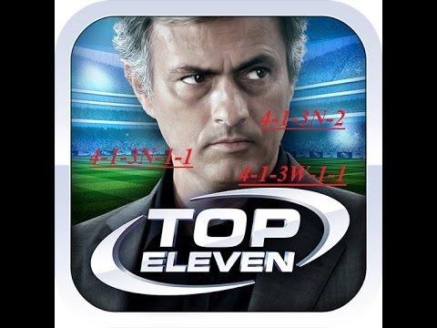 Тактика в top eleven против 4-4-2 - fa