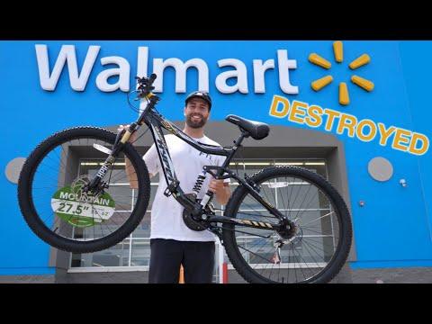 $148 Walmart MTB VS Downhill Mountain