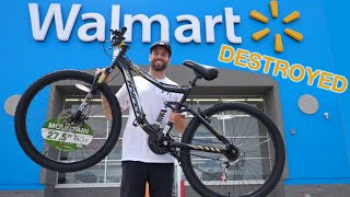 $148 Walmart MTB VS Downhill Mountain