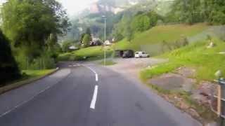 Villa Margaritha to Vitznau near Lucerne Switzerland