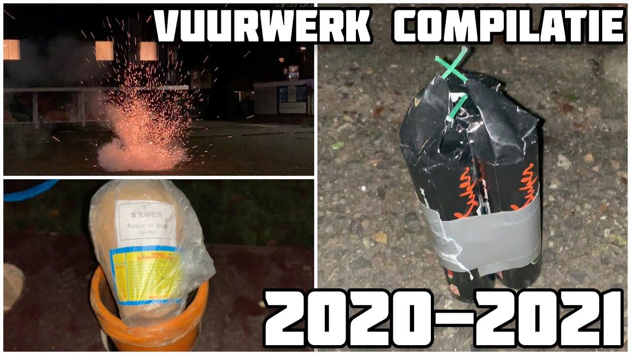 VUURWERK COMPILATIE 2020-2021 | VUURWERKER