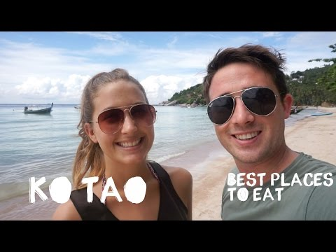 Ko Tao Thailand - Best Places to Eat Travel Vlog