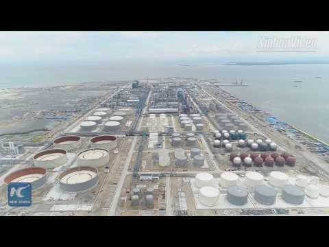 Chinese-built petrochemical complex in Brunei to be put into operation