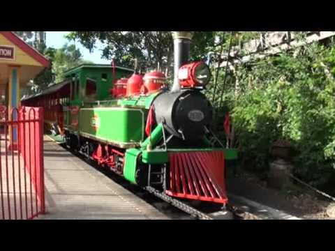 Dream World Steam Train - YouTube