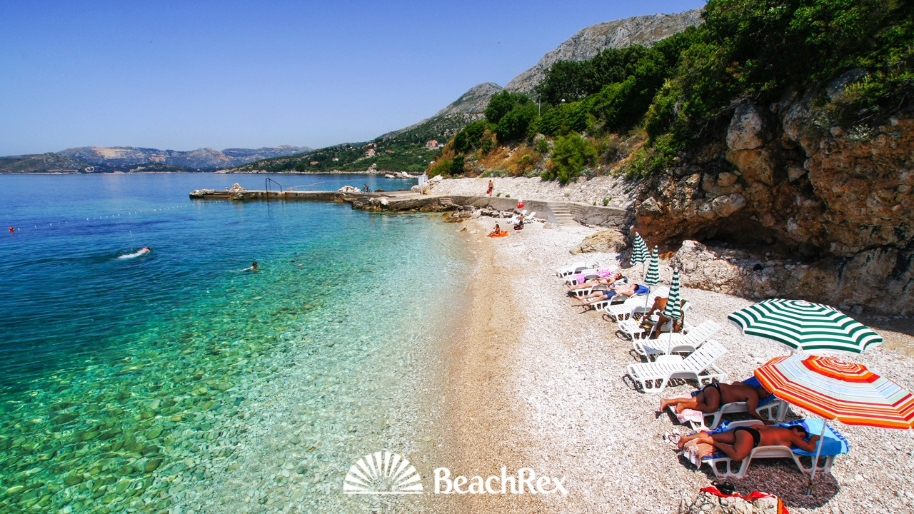 Beach Orphee Plat Croatia Youtube