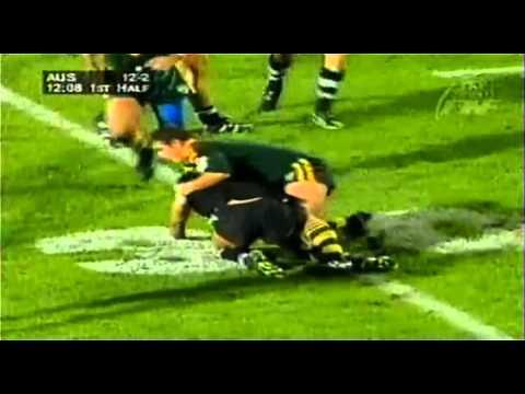 New Zealand V Australia ANZAC Rugby League Test 1998