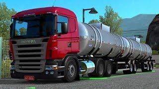 EURO TRUCK SIMULATOR 2 - SÉRIE VIDA REAL #4 - Atolando bonito a R420! *Scania R420 rebaixada*