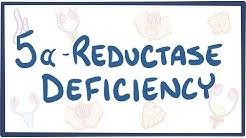 5-alpha reductase deficiency - causes, symptoms, diagnosis, treatment, pathology