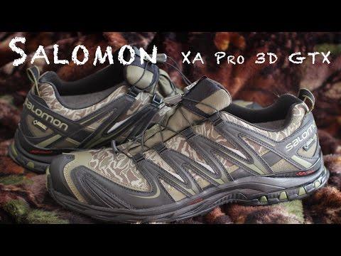 salomon outline gtx dtest youtube