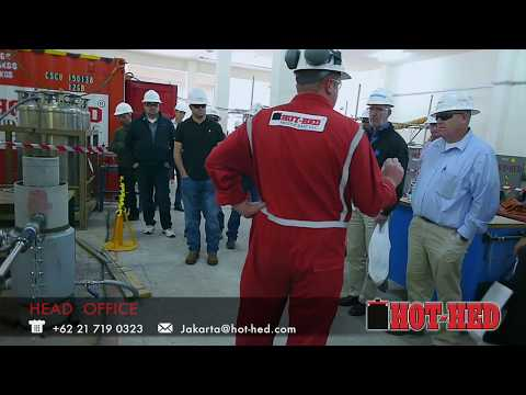 HOT TAPPING / PIPE FREEZING CLIENT DEMO - Hot-Hed Intl Oilfield Services & Equipment Rentals