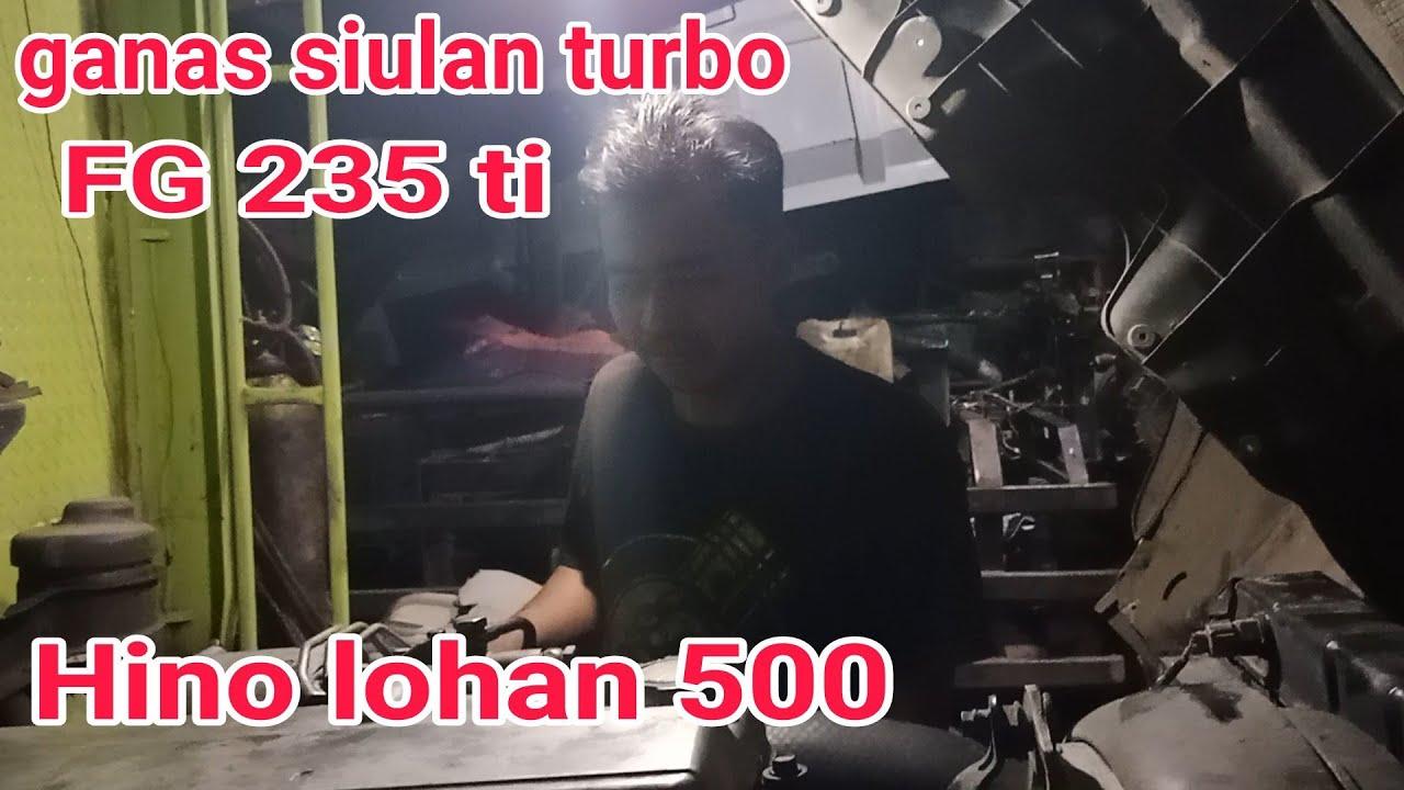 ganas siulan turbo FG 235 ti Hino lohan 500