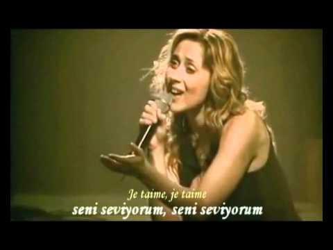 Lara_Fabian-Je t'aime live ( Türkçe altyazı )