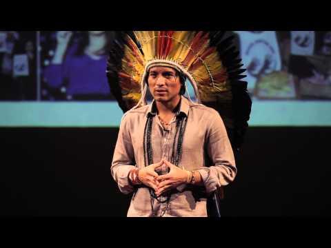 Land and life | Nixiwaka Yawanawá | TEDxBedford