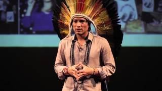 Why Brazil's indigenous people fight for the Amazon rainforest | Nixiwaka Yawanawá | TEDxBedford