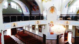 Igreja Católica Santíssima Trindade de Colonia Marcelino  em São José dos Pinhais -PR