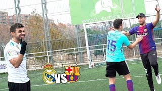 Real Madrid VS Barcelona - RobertPG & xBuyer VS DjMaRiiO & Toniemcee - RETOS DE FUTBOL