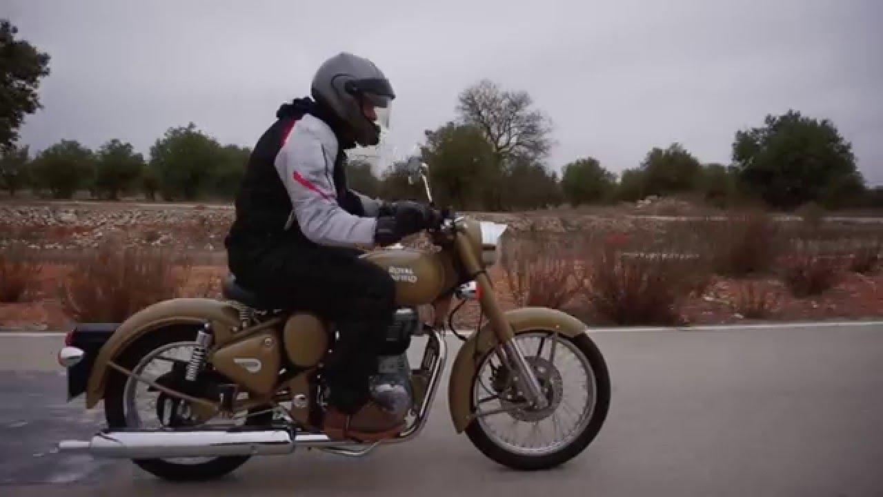 Royal Enfield Bullet 500 Desert Storm Prueba A Fondo Youtube