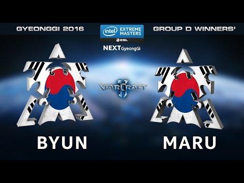 StarCraft 2 - ByuN vs. Maru [TvT] - Group D Winners' Match - IEM Gyeonggi 2016