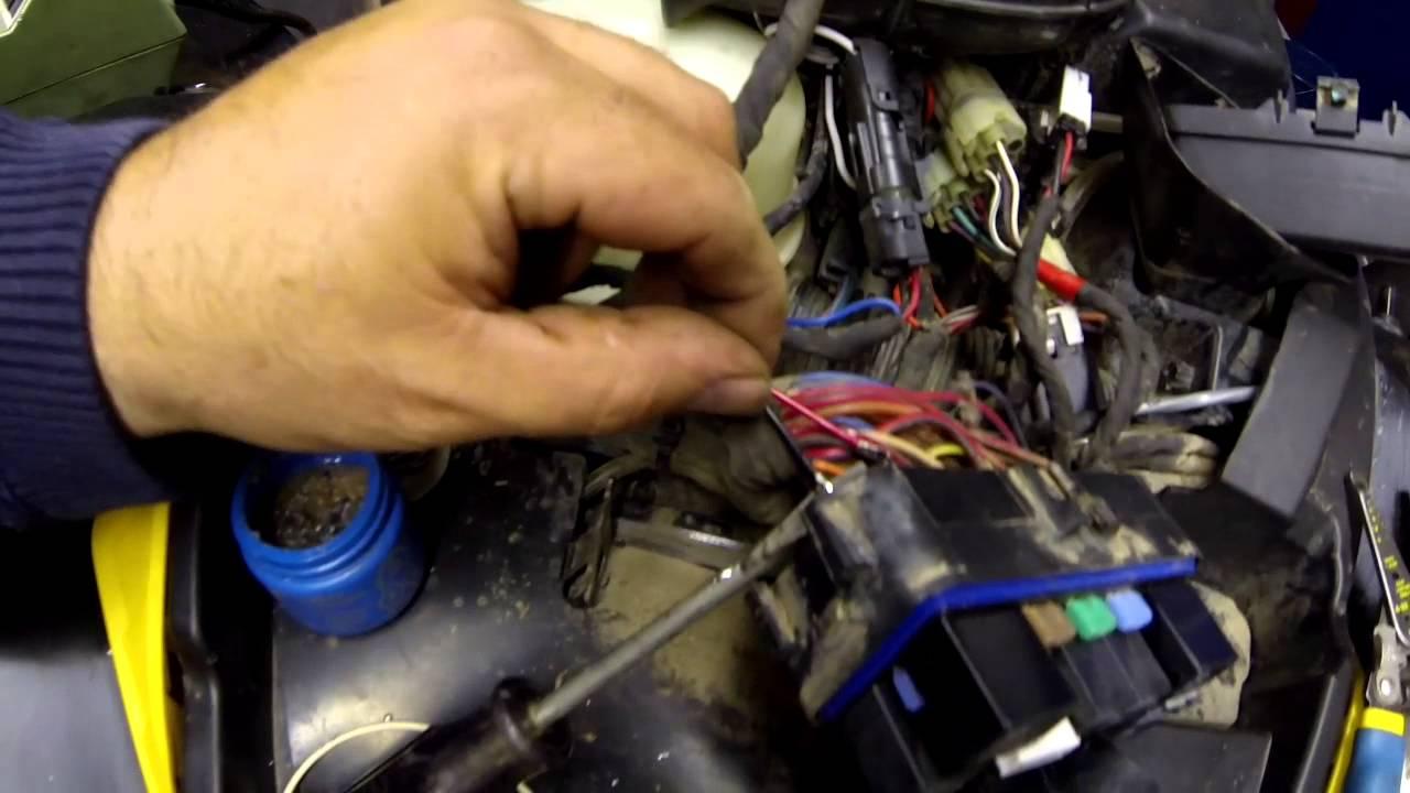 medium resolution of can am cooling fan bypass install