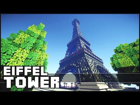 Minecraft - Eiffel Tower & Paris Buildings