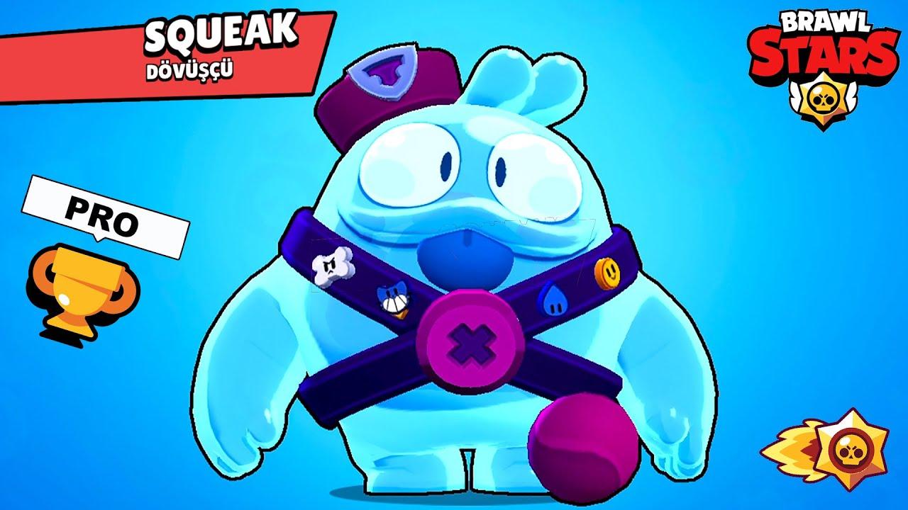 En Yeni Savaşçı Squeak Aldım!! - Panda ile Brawl Stars