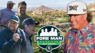 Pat Perez vs. The Fore Man Scramble (Troon North Golf Club)