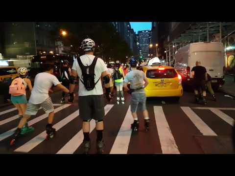 Day 1 of 2017 Big Apple Roll City Inline Skating / Rollerblading