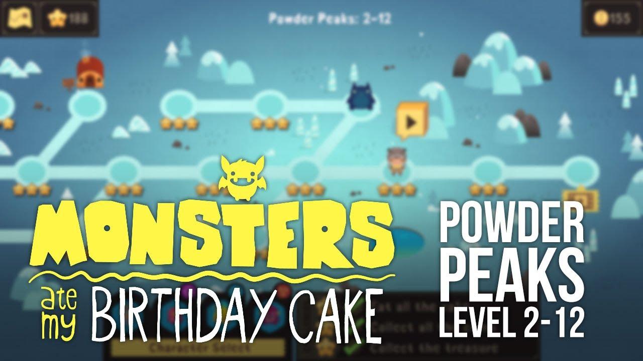Monsters Ate My Birthday Cake Ios Level 2 12 3 Star Walkthrough