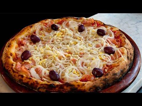 Curso Treinamento de Pizzaiolo - Pizza Portuguesa