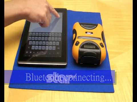 how to connect printer to tablet