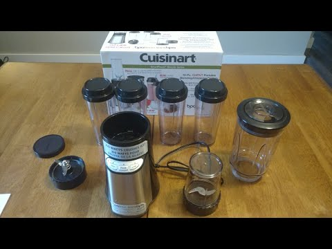 Cuisinart Smartpower Blender Series Blending Chopping Mixer Unboxing and Review