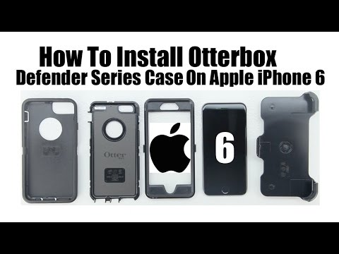 How To Install Otterbox Defender Case On The Apple Iphone