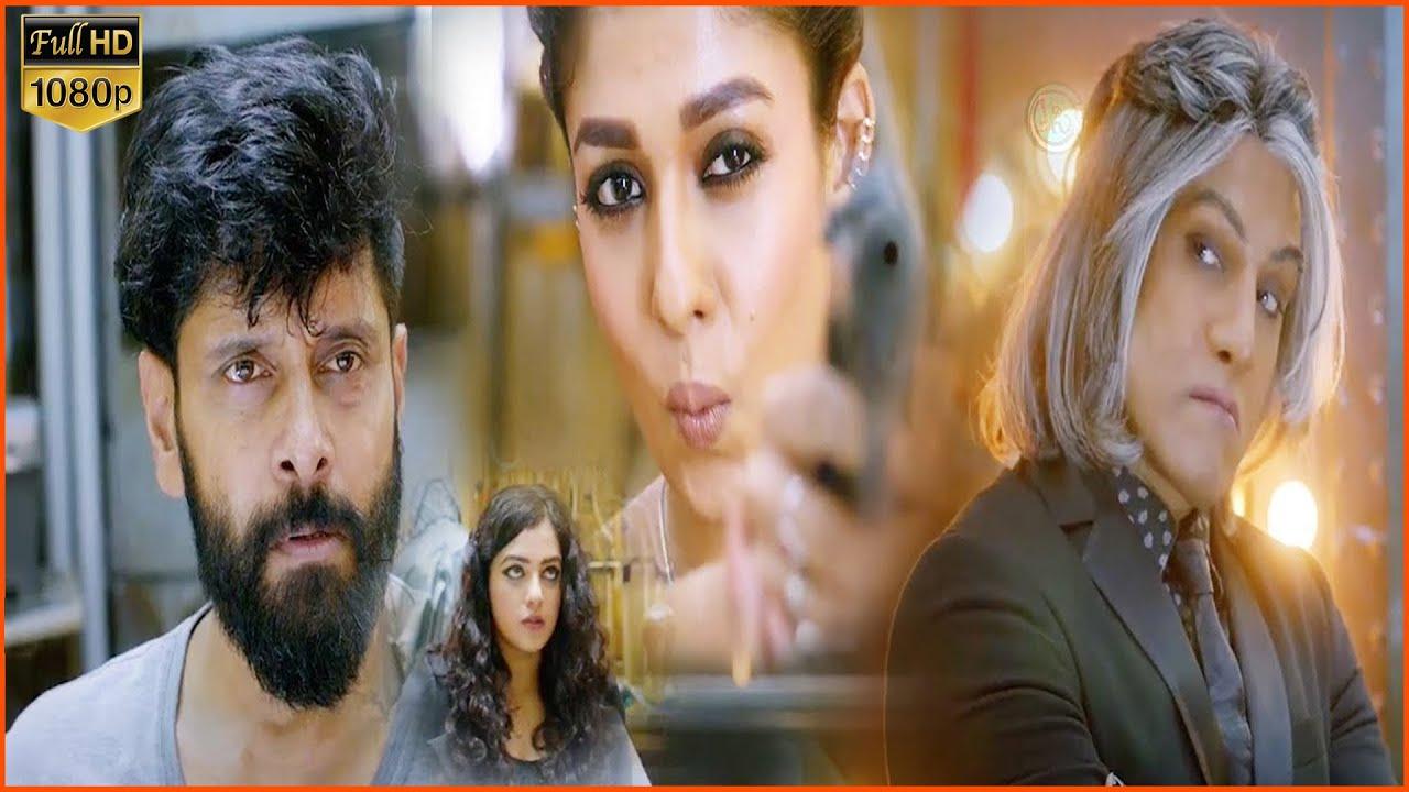 Download Chiyaan Vikram Nayanthara Super Hit Action Movie   Nitya Menon   Cinema Ticket  