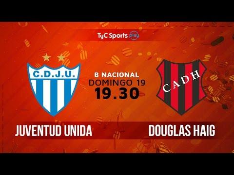Primera B Nacional: Juventud Unida (G) vs. Douglas Haig | #BNacionalenTyC